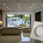 Tevea - Eclairage encastré cadre et lampe LED Downlight 230V 3.5W Ultra Slim - pivotant, cadre carré, Lot de 5 Spots de la marque Tevea image 3 produit