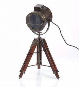 Thor Instruments. Co Lampe de table de designer style nautique avec trépied Bronze de la marque Thor Instruments.Co image 0 produit