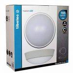 Tibelec 342010 Hublot LED Rond, Plastique, 10 W, Blanc, 80 x Ø 215mm de la marque TIBELEC image 1 produit