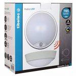 Tibelec 342210 Hublot LED Rond avec Détecteur de Mouvement, Plastique, 10 W, Blanc, 80 x Ø 215mm de la marque TIBELEC image 3 produit