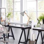 Tomons Décoration Lampe de Table LED Lampe de Bureau Salon Design Original Lampe en Bois Architecte Moderne Réglable Luminaire Industrielle à Pose de la marque tomons image 3 produit