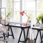 Tomons Décoration Lampe de Table LED Lampe de Bureau Salon Design Original Lampe en Bois Architecte Moderne Réglable Luminaire Industrielle à Pose de la marque tomons image 2 produit