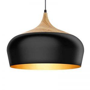 Tomons Lampe de Plafond Noir, Ampoule LED E27 Moderne Câble Nylon pour Maison de la marque tomons image 0 produit