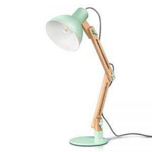 Tomons LED Lampe de Table Lampe de Bureau Salon Design Original Lampe en Bois Architecte Moderne Réglable Luminaire Industrielle à Pose de la marque Tomons image 0 produit