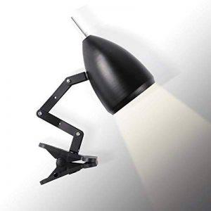 Topmo-plus lampe de lecture conception classique de fer/lampe de table/lampe de bureau réglable/avec le bras articulé, oeil-amical/la lampe de travail/lampe de bureau/Lampe de chevet noir de la marque topmo-plus image 0 produit