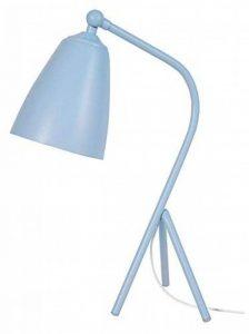 Tosel 90175 Petit Larsen Lampe de Bureau Tôle Acier/Peinture Époxy Bleu Pastel 180 x 300 x 450 mm de la marque Tosel image 0 produit