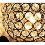 TRADE® Luxe 2 têtes Appliques murales Bougies Round Cristal Lumières Couverture Chrome plaqué Base Lampes lampholders de la marque TRADE® image 2 produit