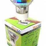 Trango 12er Jeu de projecteurs encastrés carrés LED Acier inoxydable look TG6729-122SB inclus 12 ampoules GU10 LED éclairage encastré Plafonniers pivotants de la marque TRANGO image 1 produit