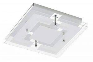 Trango IP44 moderne Lumière de bain LED plafonnier Lampe de salle de bain à couloir Applique TG3103 y compris 3000K blanc chaud Module LED directement 230V de la marque Trango image 0 produit