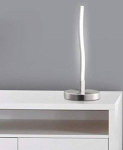 """TRANGO Lampe de table lampe de chevet Lampe de chevet """"Florida"""" avec éclairage LED 3000K blanc chaud TG2017-91 de la marque TRANGO image 0 produit"""