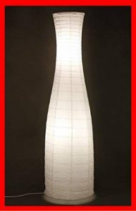 Trango ® tG1231 reispapierlampe lampe sur pied au design moderne en papier blanc 120 x 33 cm de la marque Trango image 0 produit