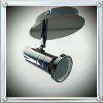 Trango® TG2001–028Plafonnier 2lumières LED avec rail 2x GU103000K Blanc Chaud Ampoule LED, Spot de plafond spots avec articulations de la marque Trango image 2 produit