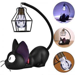 Treeshu Résine Chat Design Lampe De Nuit Creative Light Table Lampes De Chevet pour La Lecture,Wirelampshade de la marque Treeshu image 0 produit