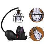 Treeshu Résine Chat Design Lampe De Nuit Creative Light Table Lampes De Chevet pour La Lecture,Wirelampshade de la marque Treeshu image 1 produit