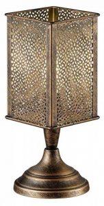 Trio Leuchten Lampe de table abat-jour Jana en métal laiton antique Bureau Kupfer antik de la marque Trio-Leuchten image 0 produit