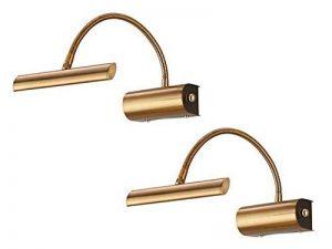 Triptyque Lot de 2LED éclairage avec flexible en laiton–Plus de variateur rotatif à intensité variable. de la marque Trio-Leuchten image 0 produit