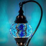 turc mosaïque lampe de table, DE superbes, Unique Style marocain Boule Chinoise, col de cygne Série par TK Bazaar de la marque TK image 1 produit