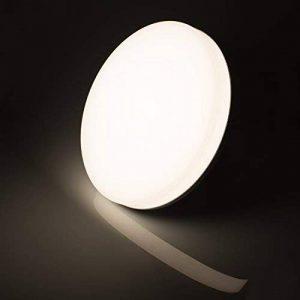 Öuesen Plafonnier LED 18W, Lampe de plafond résistante à l'eau IP44, Equivalent à Lampe Incandescente 100W, 1650lm, 4000K, Blanc Naturel, Parfait pour Plafond de Salle du Bain, Cuisine, Salon de la marque Öuesen image 0 produit