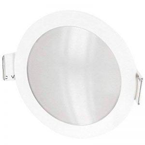 UltraSlim LED Spot Luminaire encastrable IP54–incl. Transformateur LED pour 230V–5W 420lm–Ø 90mm 30mm plat tagesweiß (4200K) de la marque HAVA image 0 produit