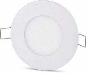 UltraSlim Panneau LED 3W 230V Aluminium Spot rond Moderne kaltweiß (6400 K) de la marque HAVA image 0 produit