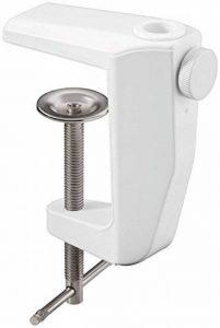 UNBEKANNT Lot de 2 Pinces de Fixation 0-60 mm Métal pour Lampe Loupe Fixpoint Blanc de la marque Unbekannt image 0 produit