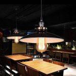 Unimall Suspension Luminaire Industrielle Antique Style Vintage de Lampe Culot Edison E27 en Métal 60W pour Salon Cuisine Chambre Restaurant Café Repas Boutique Noir de la marque Unimall image 3 produit