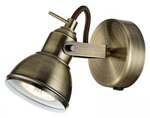 Unique industriel conçu antique laiton spot mur lumière avec interrupteur par Happy Homewares de la marque Happy Homewares image 0 produit