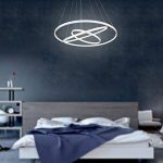 Unitary BRAND Suspension en Métal Acrylique Chrome Chevaucher LED Blanc Chaud de la marque UNITARY image 1 produit