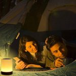Veilleuse Bébé, Comkes Lampe de Chevet LED Tactile Sensitive Veilleuse de Nuit avec 4 Niveaux de Lumière Blanche Réglable et Changement de 256 Couleurs RGB,2800K-3100K de la marque Comkes image 3 produit