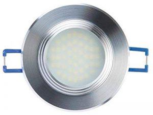 Velleman LEDA24NW/12 Spot LED Encastrable Verre Blanc de la marque Velleman image 0 produit