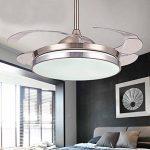 ventilateur de plafond avec lumière et télécommande TOP 12 image 4 produit