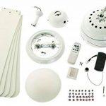 ventilateur de plafond blanc avec télécommande TOP 7 image 2 produit