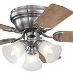 Ventilateur de plafond intérieur Contempra Trio - 90 cm - Nickel brossé. de la marque Westinghouse image 1 produit