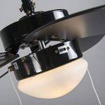 ventilateur de plafond noir TOP 2 image 4 produit