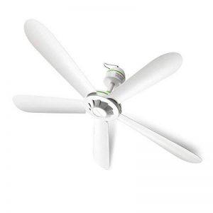 Ventilateur de plafond/petit ventilateur de maison/dortoir salon petit ventilateur de plafond/5 feuilles ventilateur silencieux mini/diamètre 70cm ventilateur blanc à économie d'énergie de la marque Electric fan image 0 produit