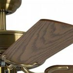 Ventilateur de plafond Potkuri Laiton antique / Chêne 132 cm de la marque Pepeo GmbH image 2 produit