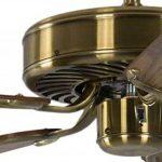 Ventilateur de plafond Potkuri Laiton antique / Chêne 132 cm de la marque Pepeo GmbH image 3 produit