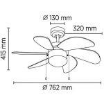 ventilateur lumière TOP 12 image 2 produit