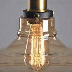 Verre Vintage industrielle Retro cordon de montage Ceiling Pendant Lampe Edison de la marque Beisaqi image 1 produit