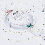 VGO 60W LED Plafonnier Dimmable Infiniment Gradable Salon Lampe de Cuisine Lumière des étoiles Effet Plafond éclairage Panneau Lustre Chambre Salle à Manger économie d'énergie de la marque huigou image 3 produit