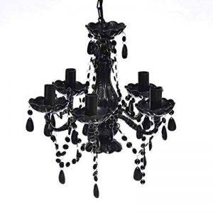 vidaXL Lustre en cristal noir de la marque vidaXL image 0 produit