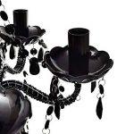 vidaXL Lustre en cristal noir de la marque vidaXL image 2 produit