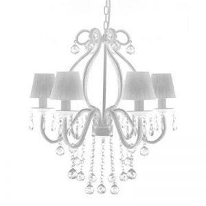 vidaXL Lustre néo baroque plafonnier 6 feux 2300 pampilles cristal lampe luminaire de la marque vidaXL image 0 produit