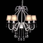 vidaXL Lustre néo baroque plafonnier 6 feux 2300 pampilles cristal lampe luminaire de la marque vidaXL image 1 produit