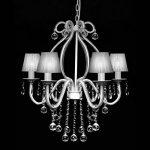 vidaXL Lustre néo baroque plafonnier 6 feux 2300 pampilles cristal lampe luminaire de la marque vidaXL image 2 produit