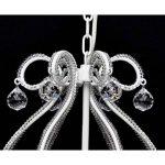 vidaXL Lustre néo baroque plafonnier 6 feux 2300 pampilles cristal lampe luminaire de la marque vidaXL image 4 produit