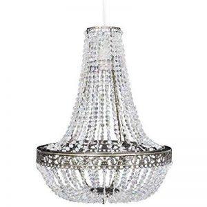 vidaXL Lustre Suspendu en Cristal 36,5 x 46 cm Plafonnier Lampe Suspension de la marque vidaXL image 0 produit
