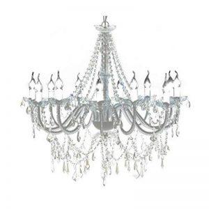vidaXL Lustre vénitien baroque 12 feux 1600 cristaux lampe luminaire de la marque vidaXL image 0 produit