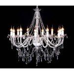 vidaXL Lustre vénitien baroque 12 feux 1600 cristaux lampe luminaire de la marque vidaXL image 1 produit