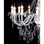 vidaXL Lustre vénitien baroque 12 feux 1600 cristaux lampe luminaire de la marque vidaXL image 2 produit
